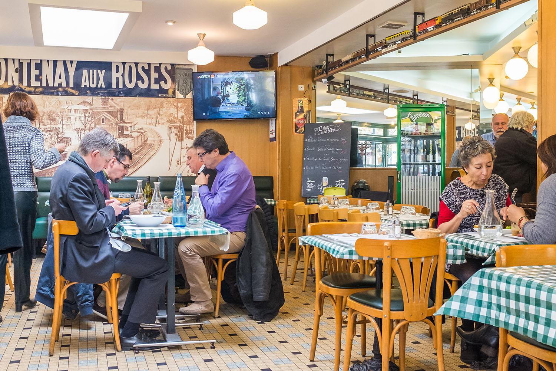 caf de la gare fontenay aux roses bar brasserie restaurant. Black Bedroom Furniture Sets. Home Design Ideas